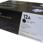 Mực in laser màu Đen HP 12AD (Q2612AD) – Hộp đôi