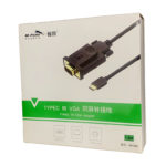 Cable Type-C ->VGA(K)1.8M  M-Pard MH 082