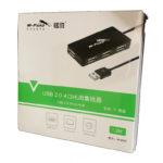 HUB USB 4-1 2.0 1.2M  M-Pard (MH 020)