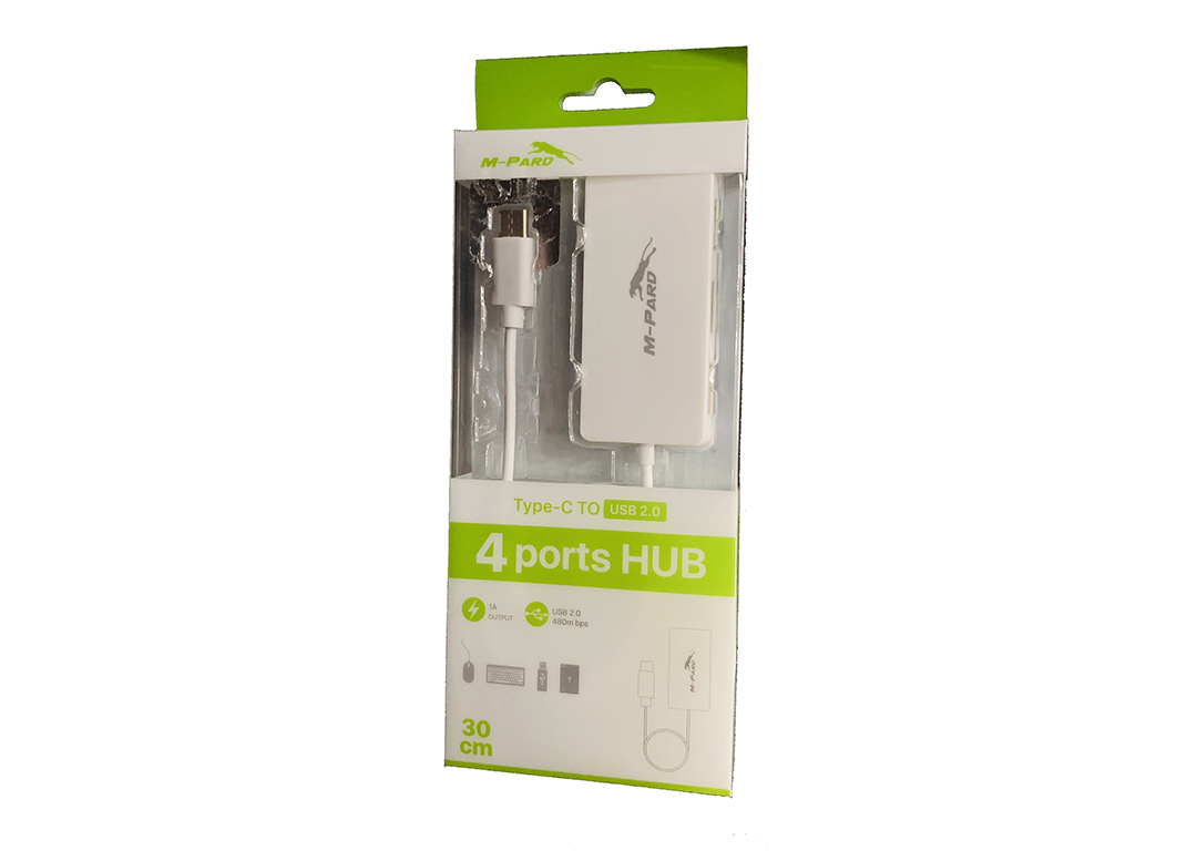 Cable Type-C->4 USB  (2.0)  M-Pard MH 021