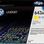 Mực in laser màu Vàng HP 643A (Q5952A)