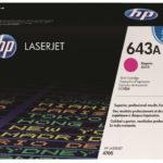 Mực in laser màu Đỏ HP 643A (Q5953AC)