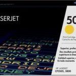 Mực in laser màu Vàng HP 503A (Q7582A)