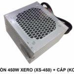 Nguồn 450W Xero (XS-450) + Cáp (KOBB)