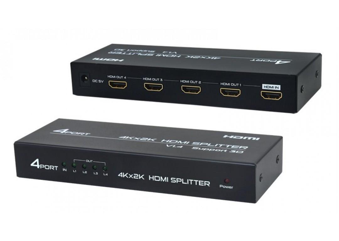 Hộp chia tín hiệu HDMI sang 4 cổng HDMI
