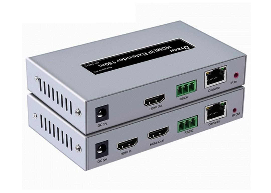 HỘP NỐI DÀI HDMI -> LAN 150M DTECH (DT-7067A)