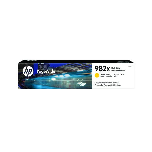 Mực in phun màu Vàng PageWide HP 982X (T0B29A)