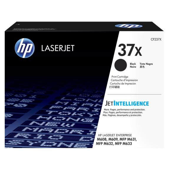 Mực in laser màu Đen hiệu suất cao HP 37X (CF237X)