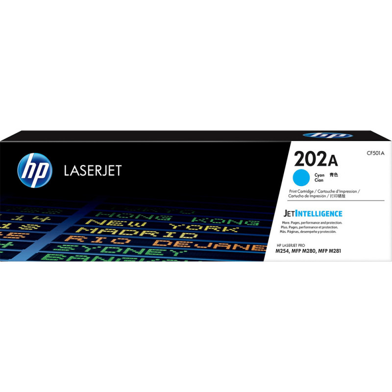 Mực in laser màu Xanh HP 202A (CF501A)