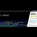 Mực in laser màu Vàng HP 202A (CF502A)