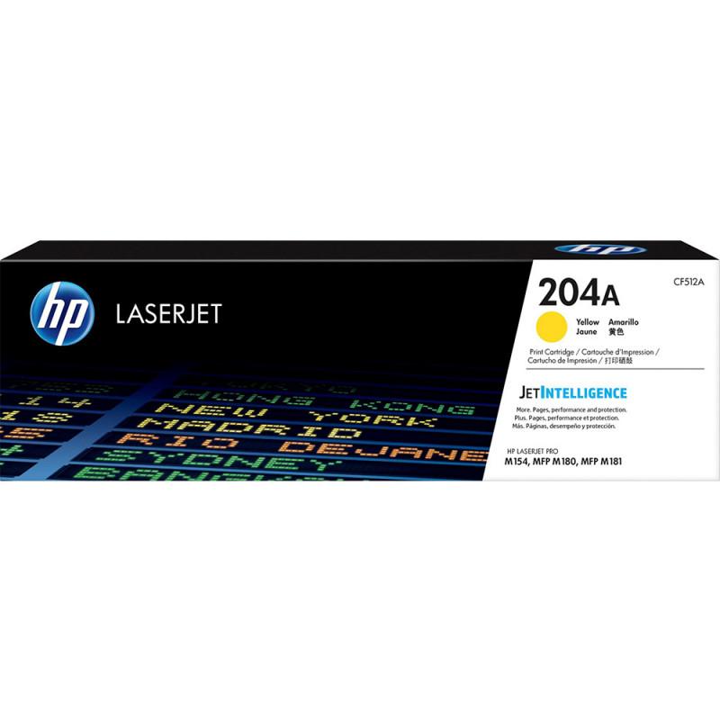 Mực in laser màu Vàng HP 204A (CF512A)