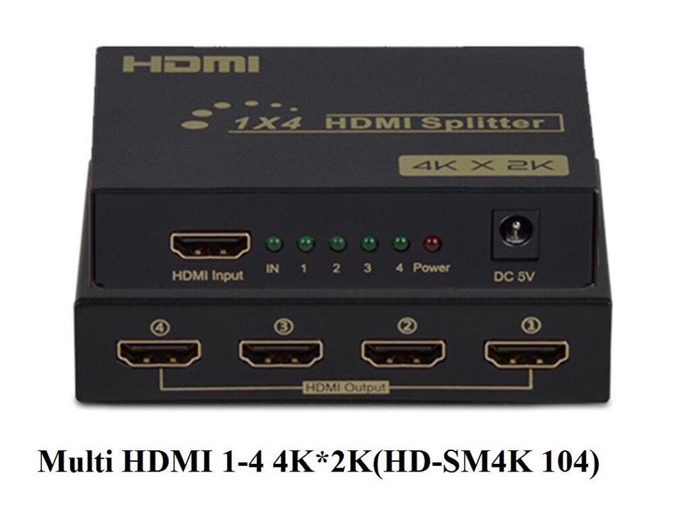 Hộp chia Multi HDMI 1-4 4K*2K(HD-SM4K 104)