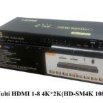 Hộp chia Multi HDMI 1-8 4K*2K(HD-SM4K 108)