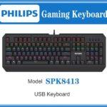 Bàn phím Gaming Philips SPK8413