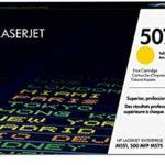Mực in laser màu Vàng HP 507A (CE402A)