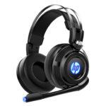 Tai nghe Headset  HP H200 đen  LED (USB+3.5mm)