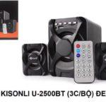 Loa KISONLI Bluetooth USB 2.1 U-2500BT – Hàng chính hãng