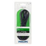 Cáp USB kết nối máy in 2.0 3m Philips SWU2113/10