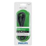 Cáp USB 2.0->Micro USB 1.8m Philips SWU2162/10