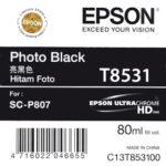 Mực in Epson màu đen T8531 Photo Black Cartridge 80ml Cho máy SC-P807
