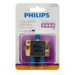 Bộ chia truyền hình cáp 1->2 Philips SDW5010H/17