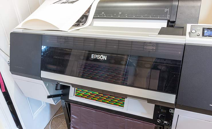 Máy in Epson SureColor SC-P7000 24 inch 10 Màu – A1