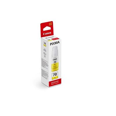 Mực in Canon G7070 Yellow Ink Cartridge (GI-70Y)