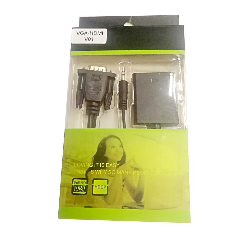 Cáp chuyển VGA sang HDMI V01